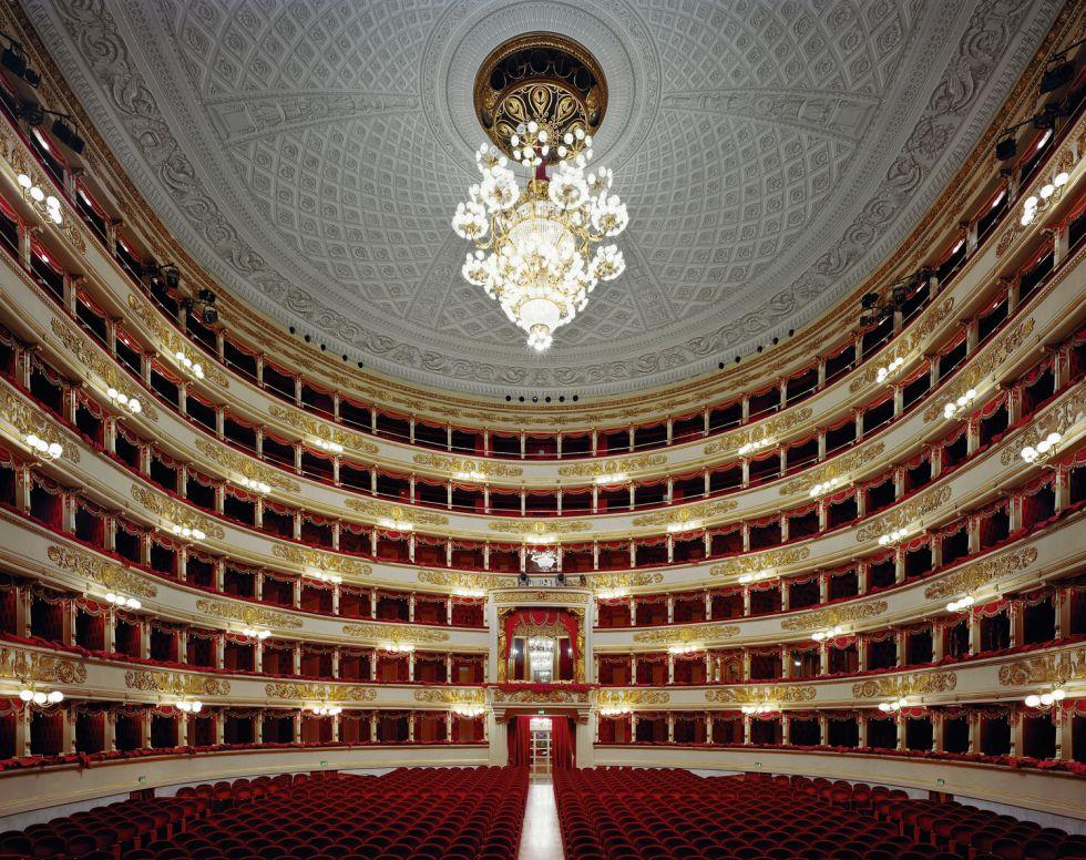 El Teatro de La Scala de Milán, retratado en 2008, es sin duda la meca para cualquier cantante.
