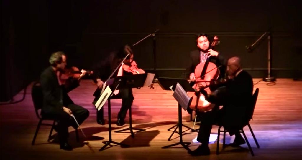 Disfruten el video del día de hoy: Latin American String Quartet