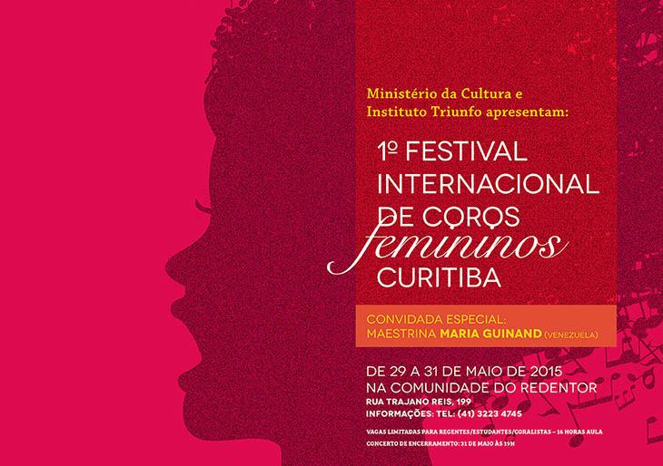 La Maestra Guinand asistirá al Primer Festival Internacional de Coros Femininos Curitiba