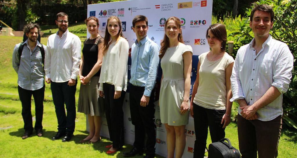 Jóvenes talentos celebran en Caracas el IV Festival Europeo de Solistas 2015