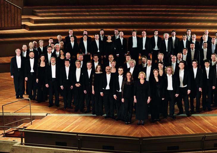 Filarmónica de Berlín: imagen dañada