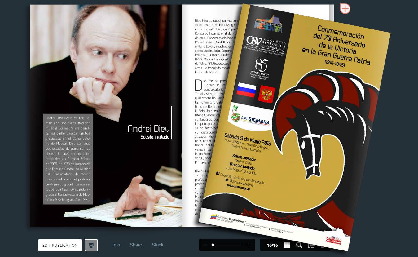 Descargue el programa de mano de la Gran Gala Rusa