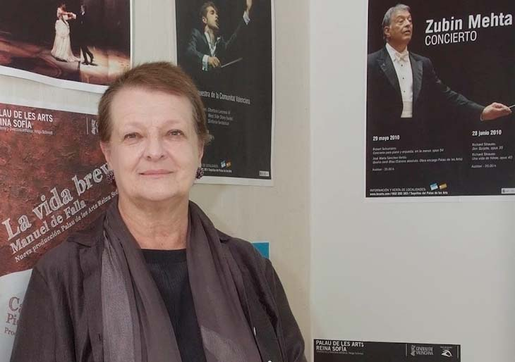 """Helga Schmidt defiende su inocencia y asegura que no lograrán """"destruir"""" su reputación ni su idea de teatro"""
