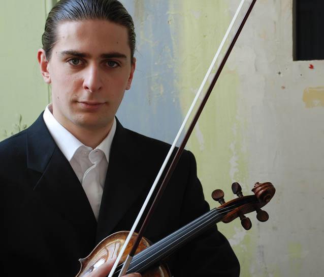 JulienZsulsman, violín (Francia)