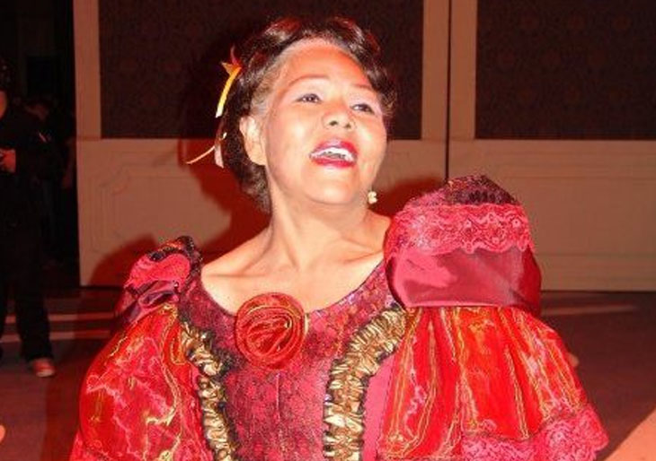 La soprano Marisol Gil cantó su aria final