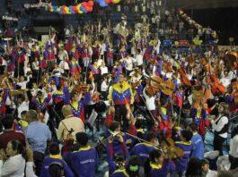 207 niños de la SNIV fueron recibidos como unos pequeños héroes en el Polideportivo de Maturín