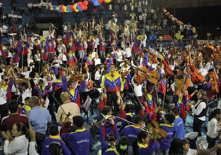 Maturín se convirtió en una fiesta musical con la Nacional Infantil