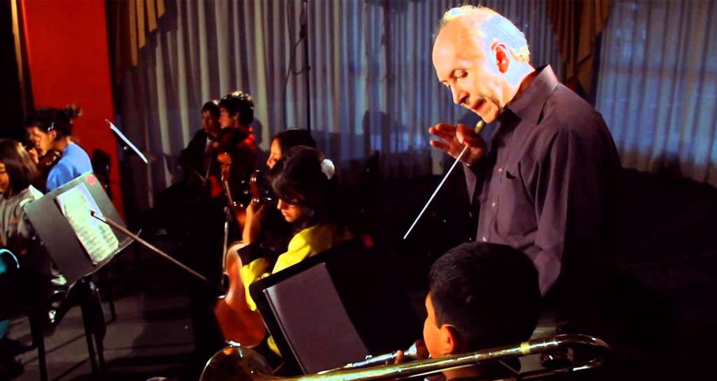 Patricio Aizaga: El sistema de orquestas juveniles nos enseña a replegar el ego