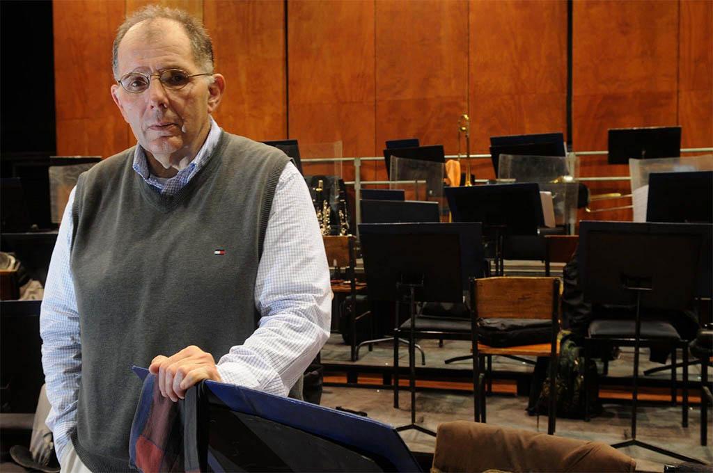 El director de Orquesta que viene a abrir aún más la institución que lo contrató. |@ (José Gutiérrez / Los Andes)