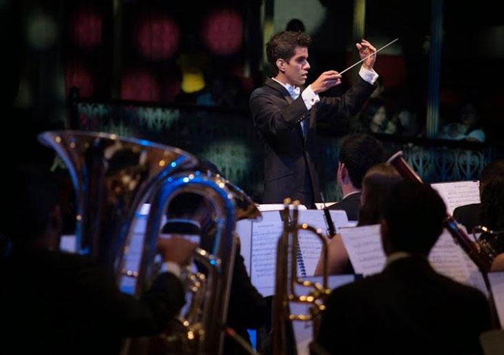 Banda Sinfónica Juvenil Simón Bolívar ofrece un concierto de película