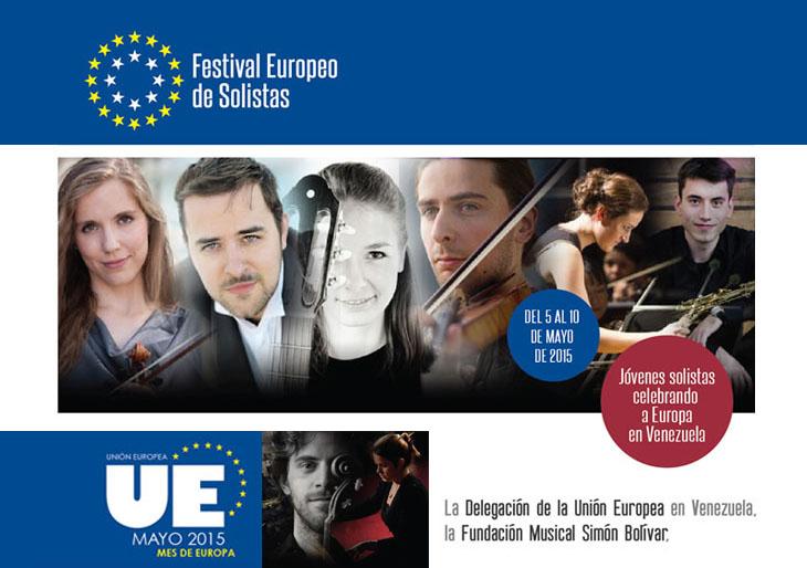 Agenda de conciertos en el marco del Festival Europeo de Solistas