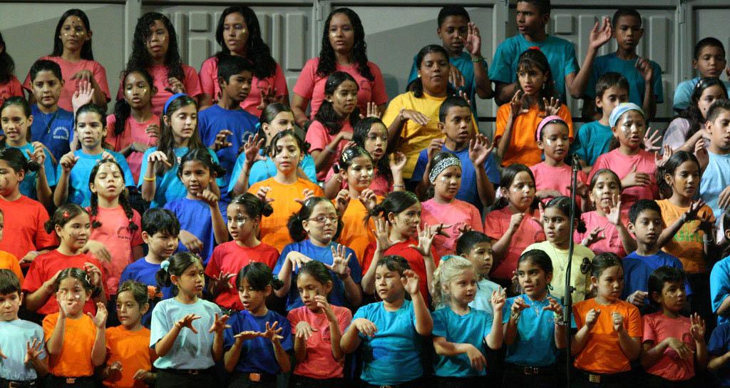 Usan el canto coral para formar ciudadanía e inculcar valores