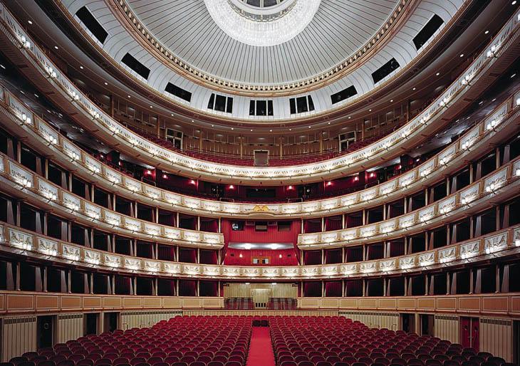 Grandes templos de la ópera al desnudo