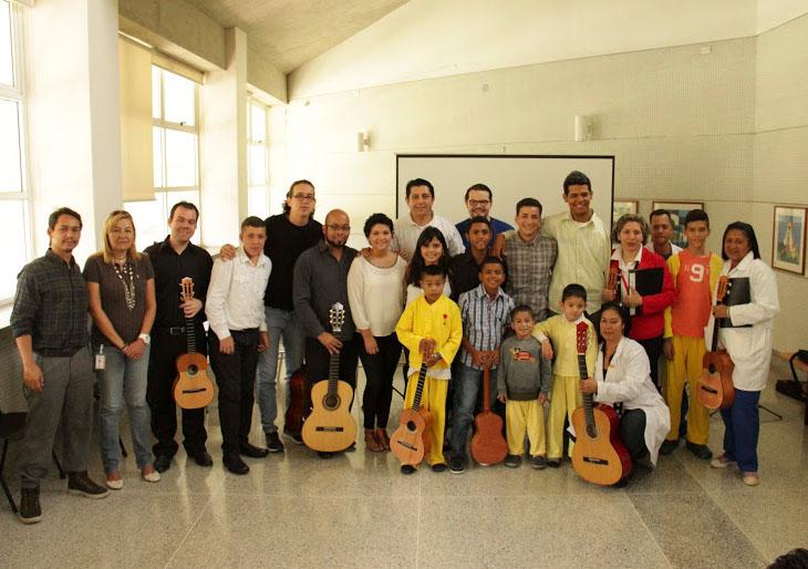 Atención Hospitalaria cumple tres años de la mano con la música