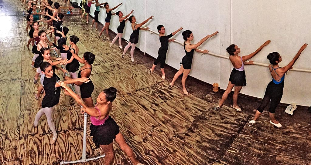 Gala de Ballet en el Omar Cedeño