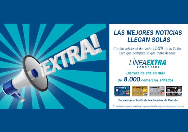 Ahora Línea Extra Bancaribe está disponibleen más de 8.000 comercios