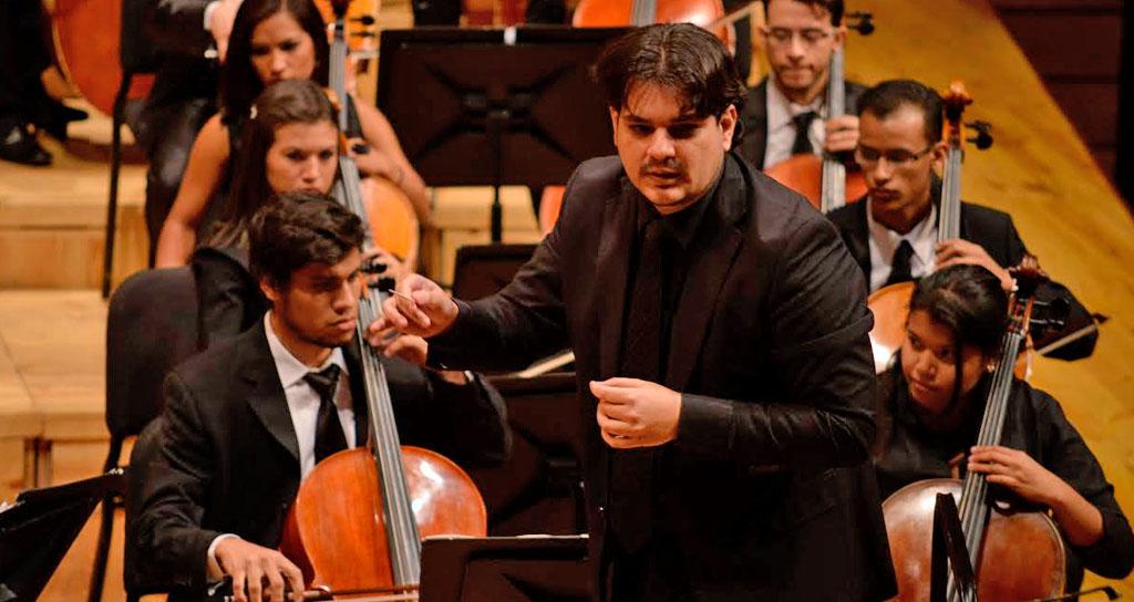 Giancarlo Castro toma la batuta de la Banda Sinfónica Juvenil Simón Bolívar