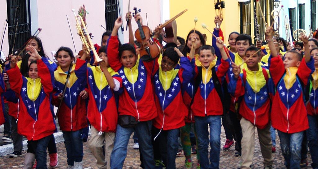 La Sinfónica Nacional Infantil recordó el legado de Hugo Blanco