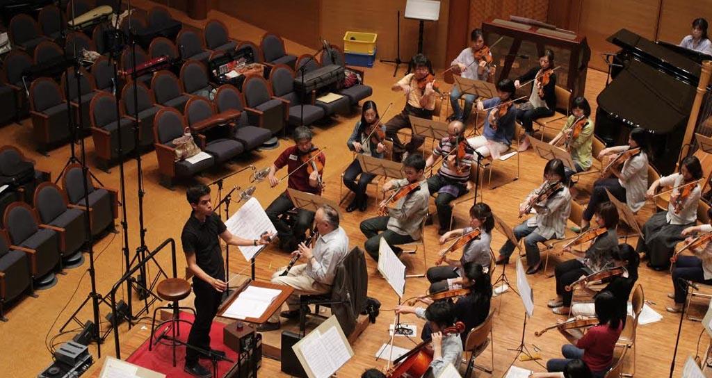 Sergio Rosales dirige en Japón a la Central Aichi Symphony Orchestra