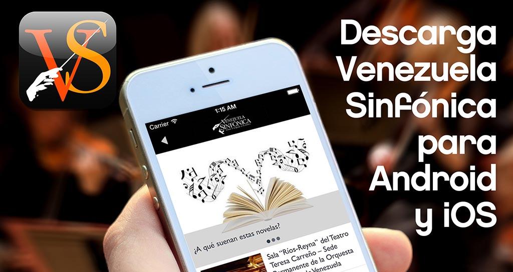 Venezuela Sinfónica ahora es una App
