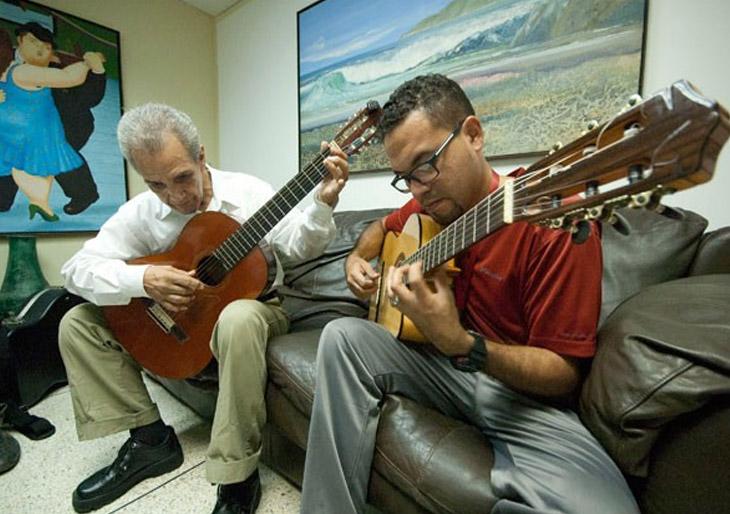 Orquesta de Guitarras lleva el nombre de Rómulo Lazarde