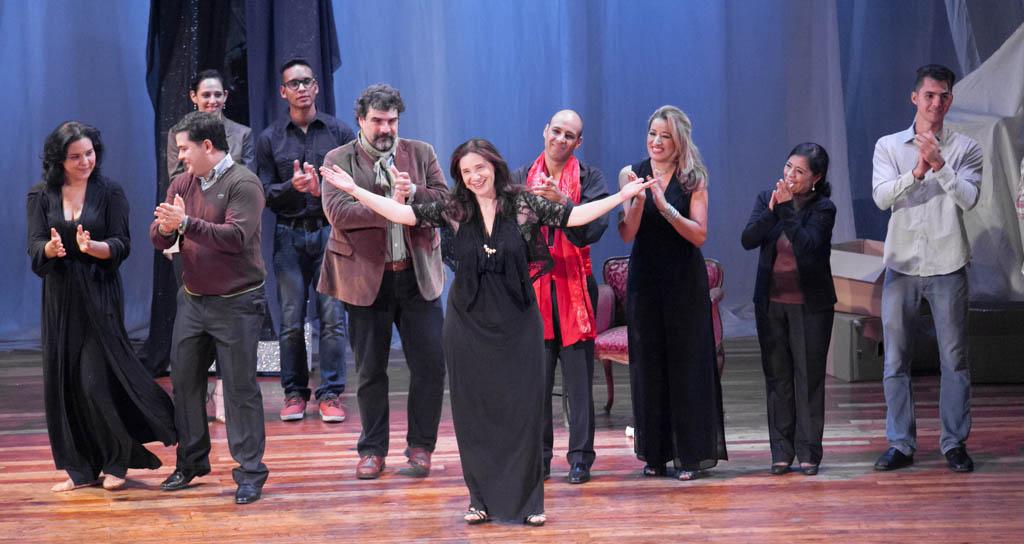 """A sala llena y en medio de sonoros aplausos culmina serie """"La Ópera en el Teatro Municipal"""""""