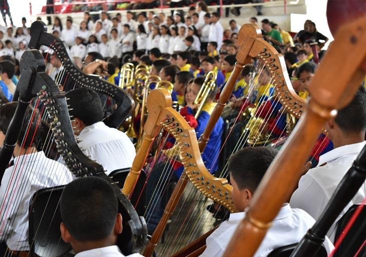 Guárico mostró la fortaleza su programa musical ante la #SNIV