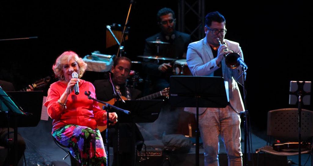 María Teresa Chacín cantó su pasión por Venezuela en el C.C Chacao