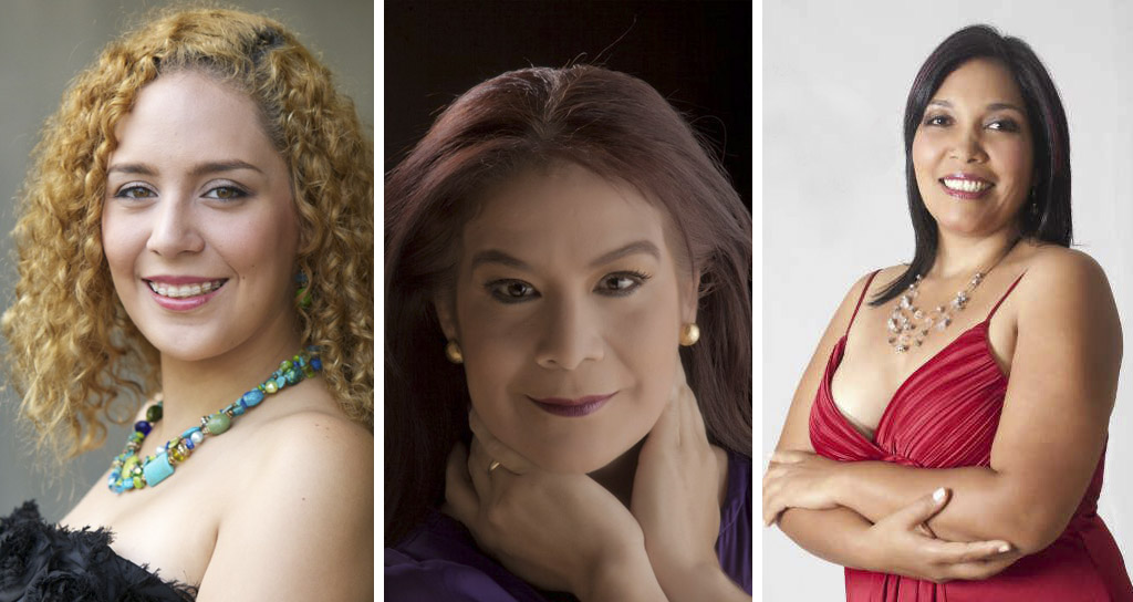 Marilyn Viloria, Margarita Troconis, Zoar Véliz