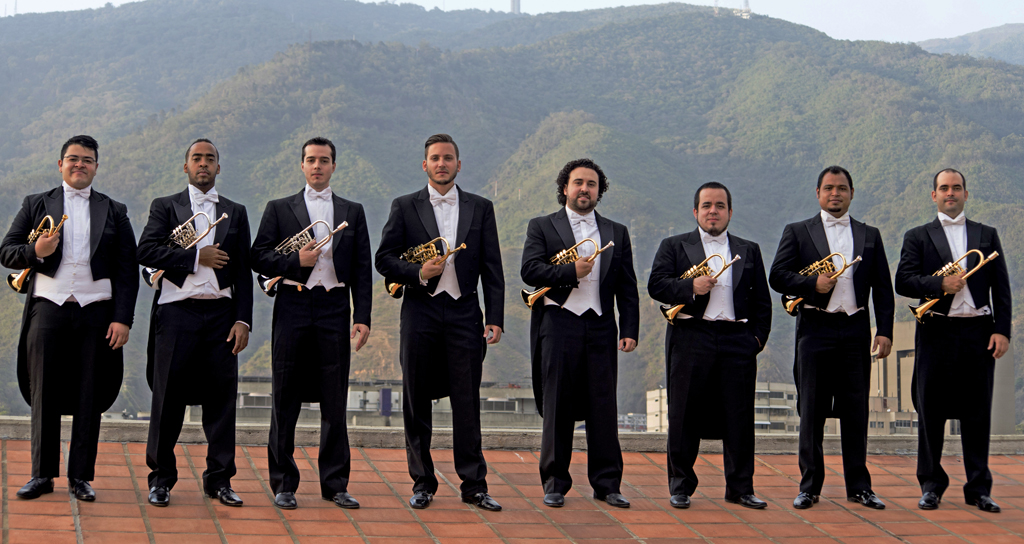 Aragua recibe a los mejores trompetistas de El Sistema