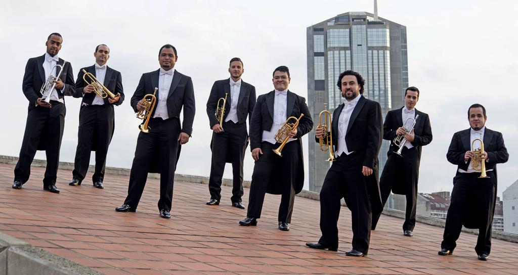 Ocho de los mejores trompetistas de El Sistema dan talleres y conciertos en cinco ciudades de Venezuela