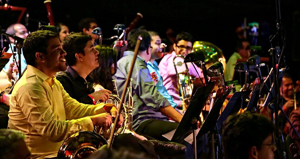 Sinfónica Municipal celebra con cantos, música y baile los 448 de nuestra capital