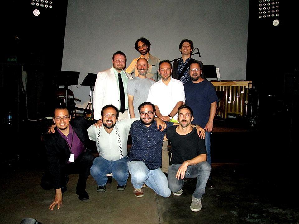 02 Foto RB - Foto Compositores en el Teatro Amador