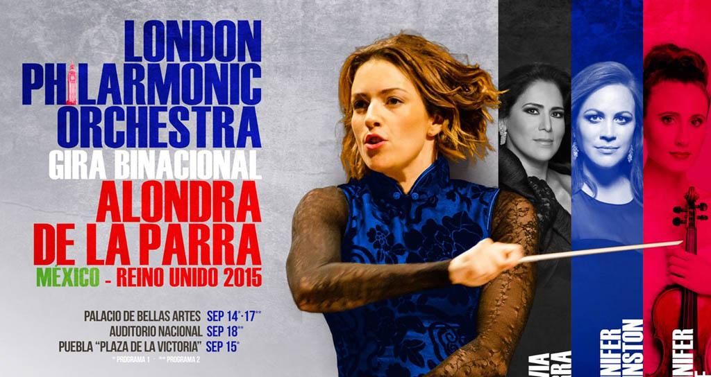 Filarmónica de Londres y Alondra de la Parra preparan gira por México