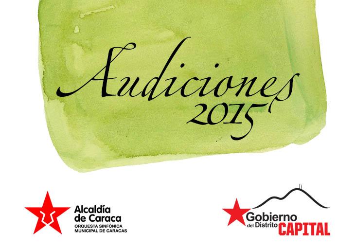 La Sinfónica Municipal de Caracas convoca Audiciones para seis instrumentos
