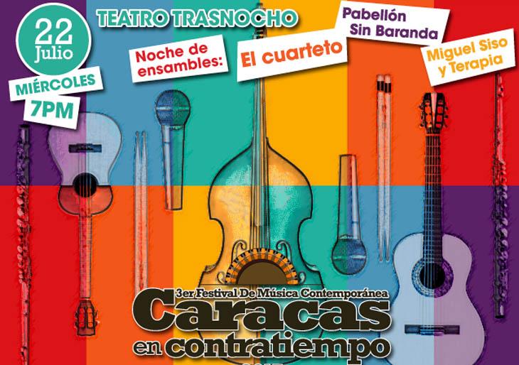 Caracas en Contratiempo arranca su programación  con una Noche de ensambles
