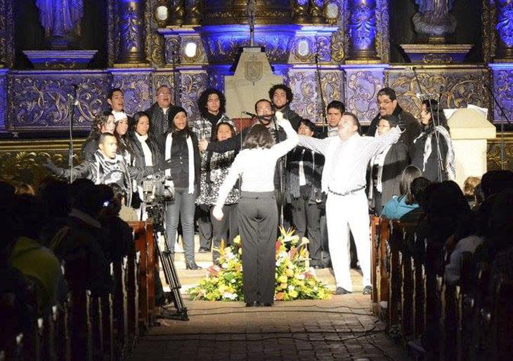 """El """"Coro de Cámara de Conservatorio de Música del edo, Aragua"""" estrena su performance """"Soy de aquí y usted lo sabe"""" en Caracas"""