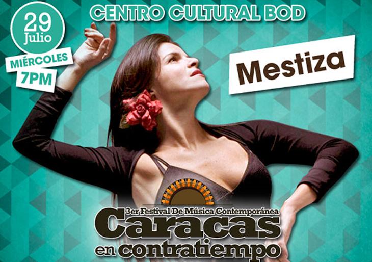 Caracas en Contratiempo presenta a Daniela Tugues en Mestiza