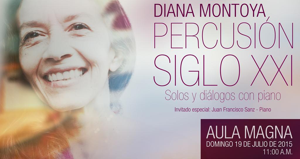 La percusionista Diana Montoya López nos propone un encuentro inédito: Percusión siglo XXI