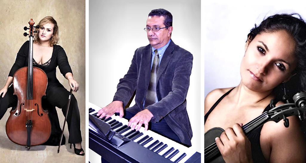 Con serenatas y canciones a la noche llenan con sabor Venezolano a Los Galpones
