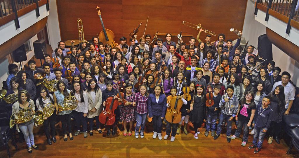 La Filarmónica de Bogotá rinde homenaje al Sistema Nacional de Orquestas de Venezuela