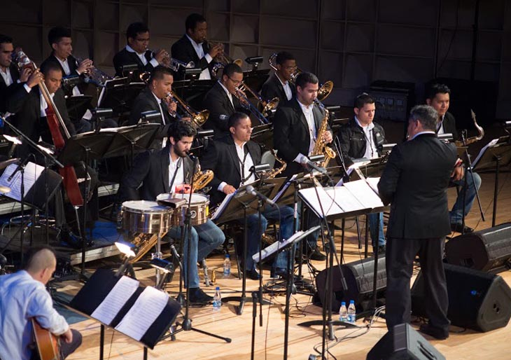 La Simón Bolívar Big Band Jazz inicia temporada de conciertos y graba su primer CD
