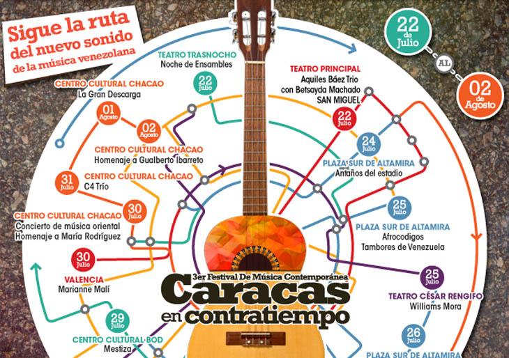El nuevo sonido de la música venezolana se expande en Contratiempo