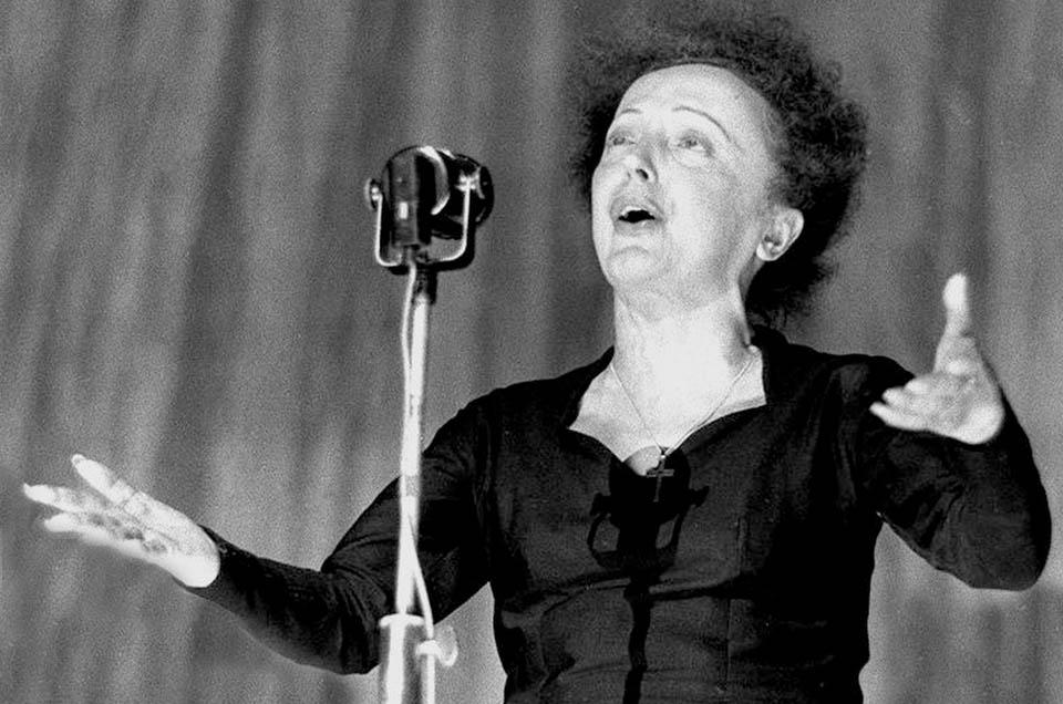 Hace 52 años: La 'Môme Piaf' enmudeció