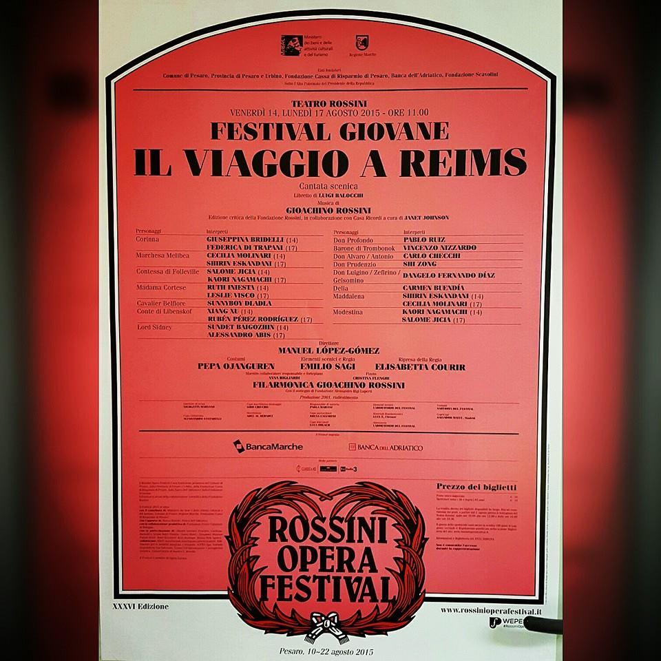 Rossini Opera Festival 2015!