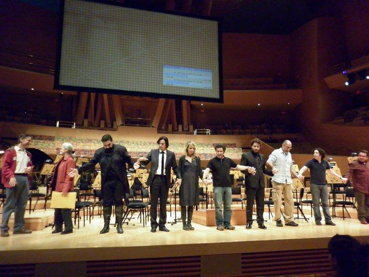 Con Erich Wildpret, Helen Hunt, Alberto Arvelo, Edgar Ramirez, Guillermo Arriaga, Gustavo Dudamel y Aquiles Machado Perfil Lleno.