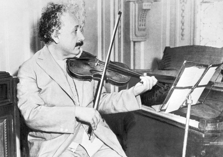 Música, la segunda pasión de Einstein