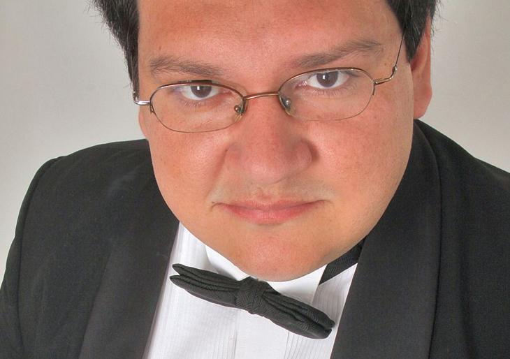 Jorge Montilla, en la Academia Orquestal de la Filarmónica de Boca del Río
