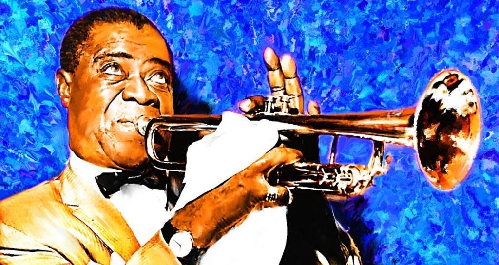 Hace 114 años nació el cantante de jazz Louis Armstrong