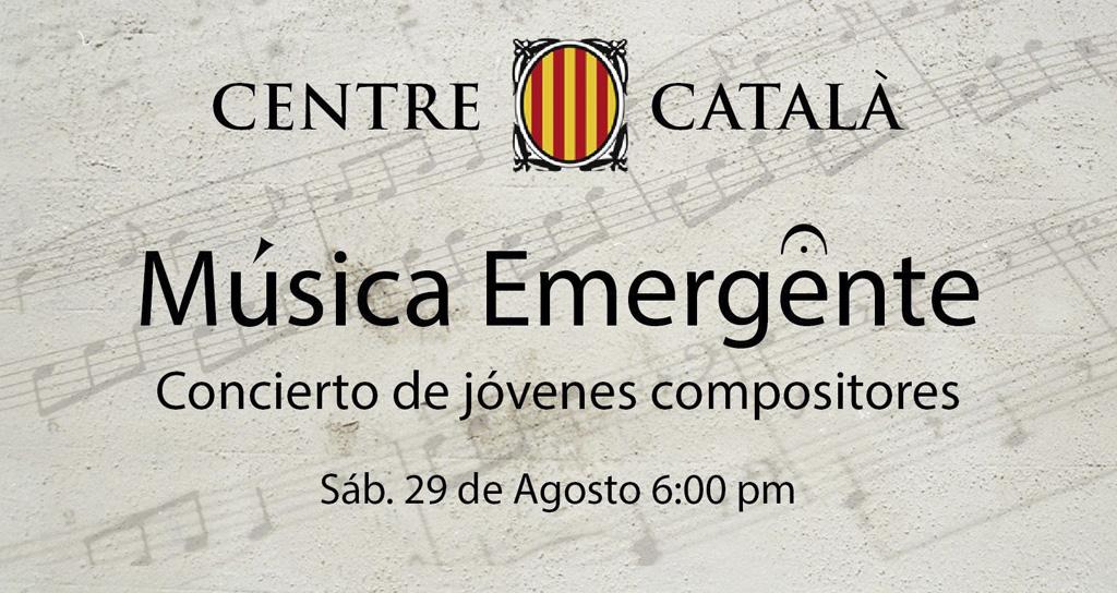 Música Emergente, concierto de Jóvenes compositores
